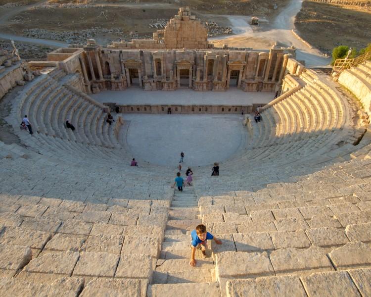 Jerash - South Theatre