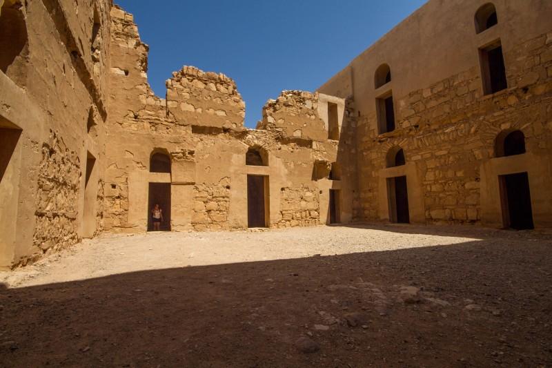 Qasr Kharana - Courtyard