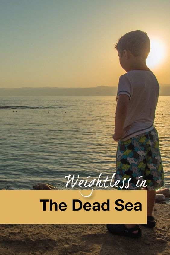 Weightless in The Dead Sea - Pinterest