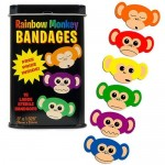Monkey bandages for kids - Items to Keep Kids Healthy When Travelling