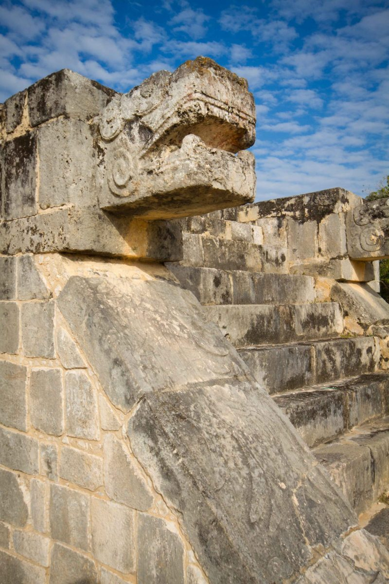 Chichen Itza - Jaguar Head