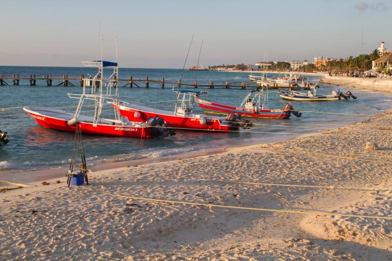 Playa del Carmen - Fishing Boats