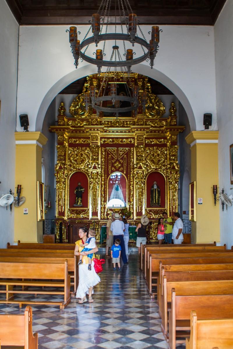 Cartagena - Inside Convento de la Popa