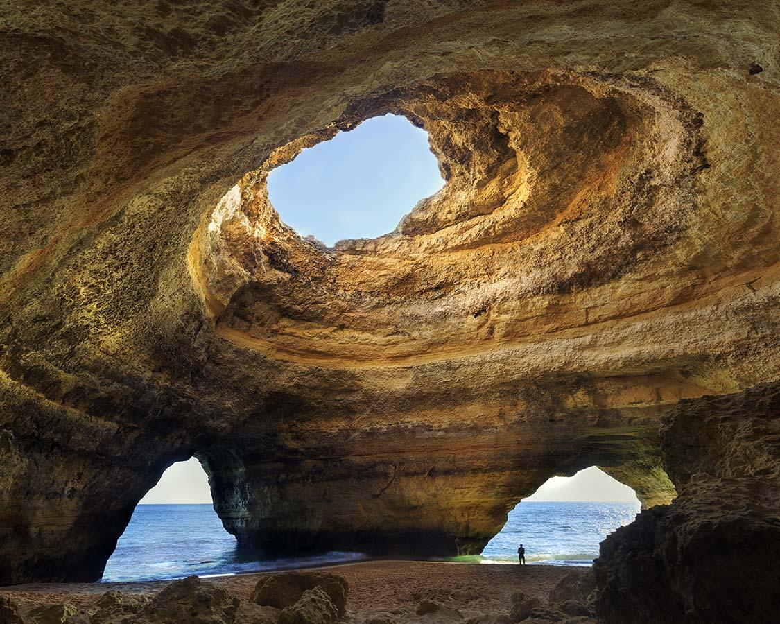Beaches in the Algarve Benagil Cave