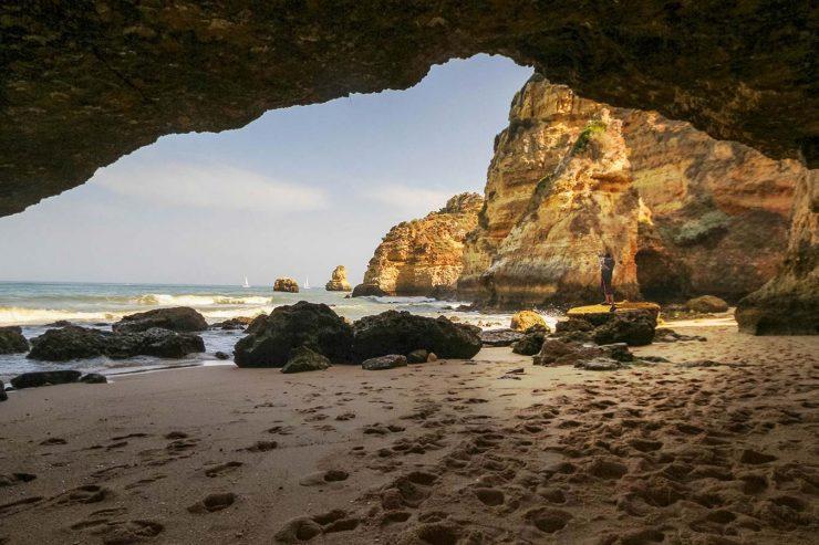 Algarve Beaches: Beach Bums and Sea Caves