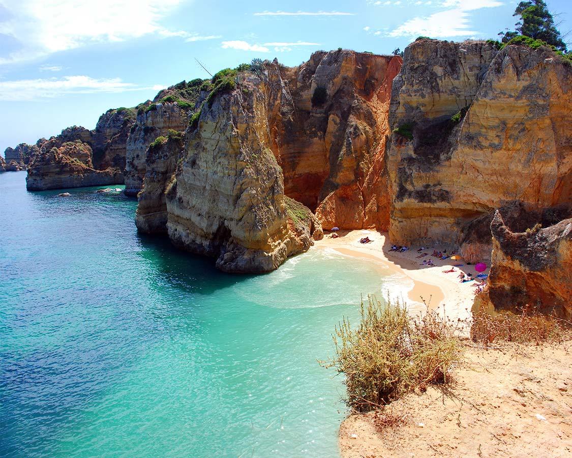 Best Algarve Beaches Praia Dona Ana