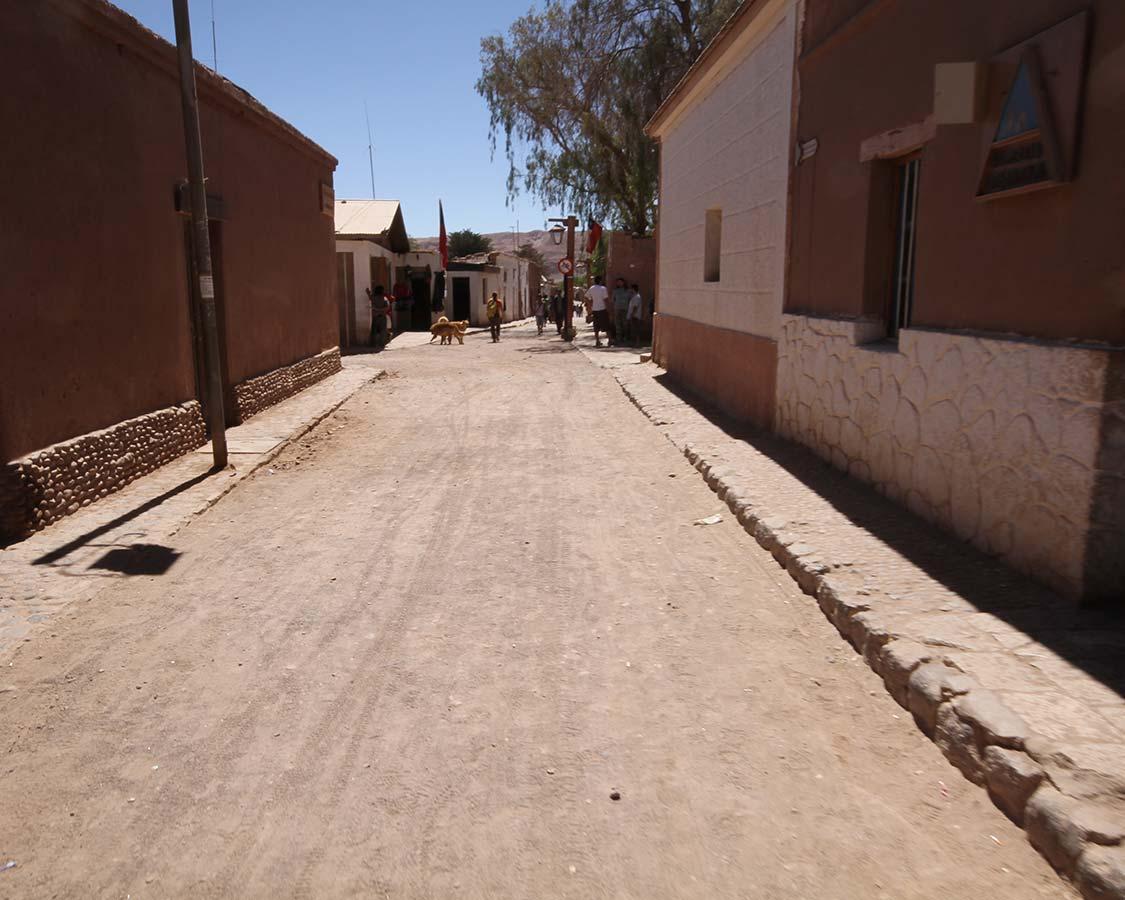 Streets of San Pedro de Atacama Chile