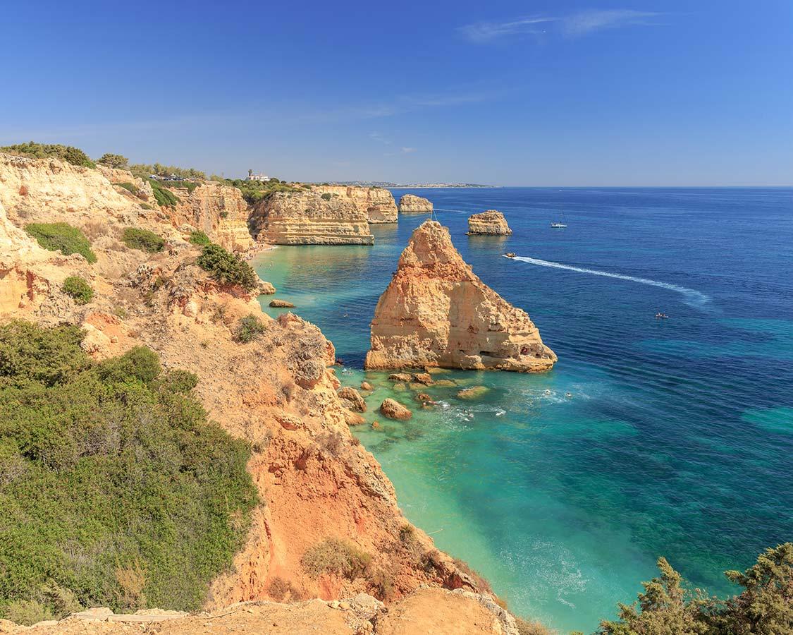 The Best Algarve Beaches Praia da Marinha
