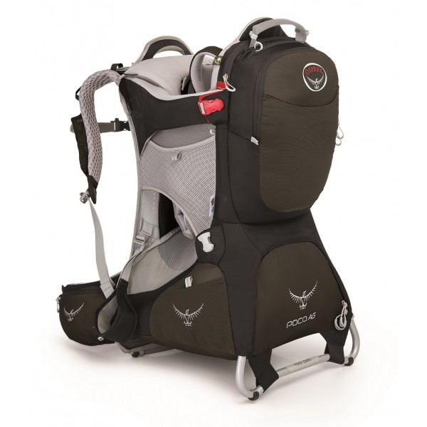 Osprey Poco Child Backpack Carrier is our second favorite kid carrier