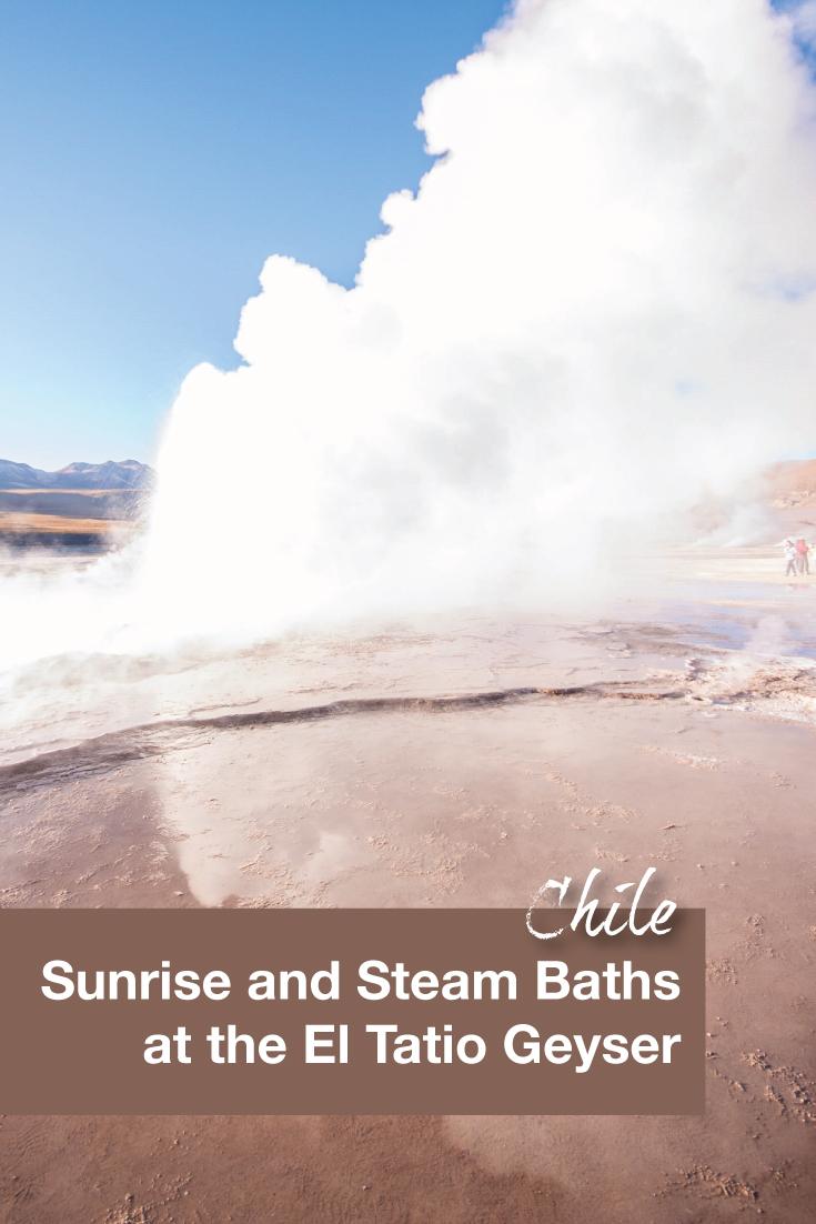 Sunrise and Steam Baths at the El Tatio Geyser