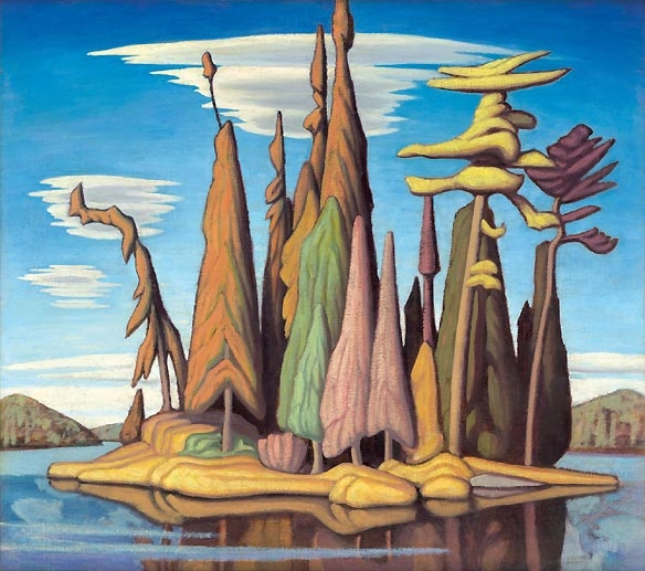 Group of Seven painting by artist Lawren Harris