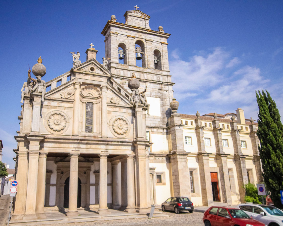 Church of Our Lady of Grace in Evora, Portugal.