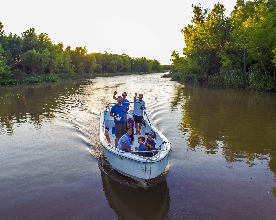 Boating through the Delta Parana in Tigre with Safari Delta