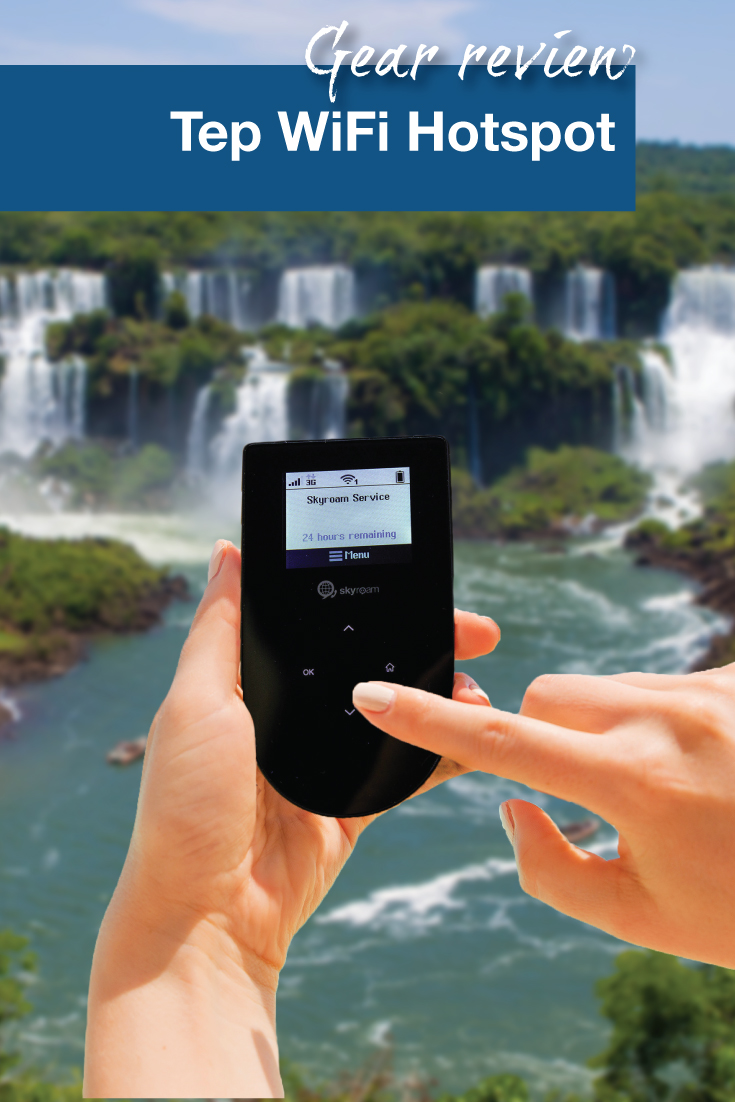 Gear Review: Tep WiFi Hotspot - Adventure Family Travel