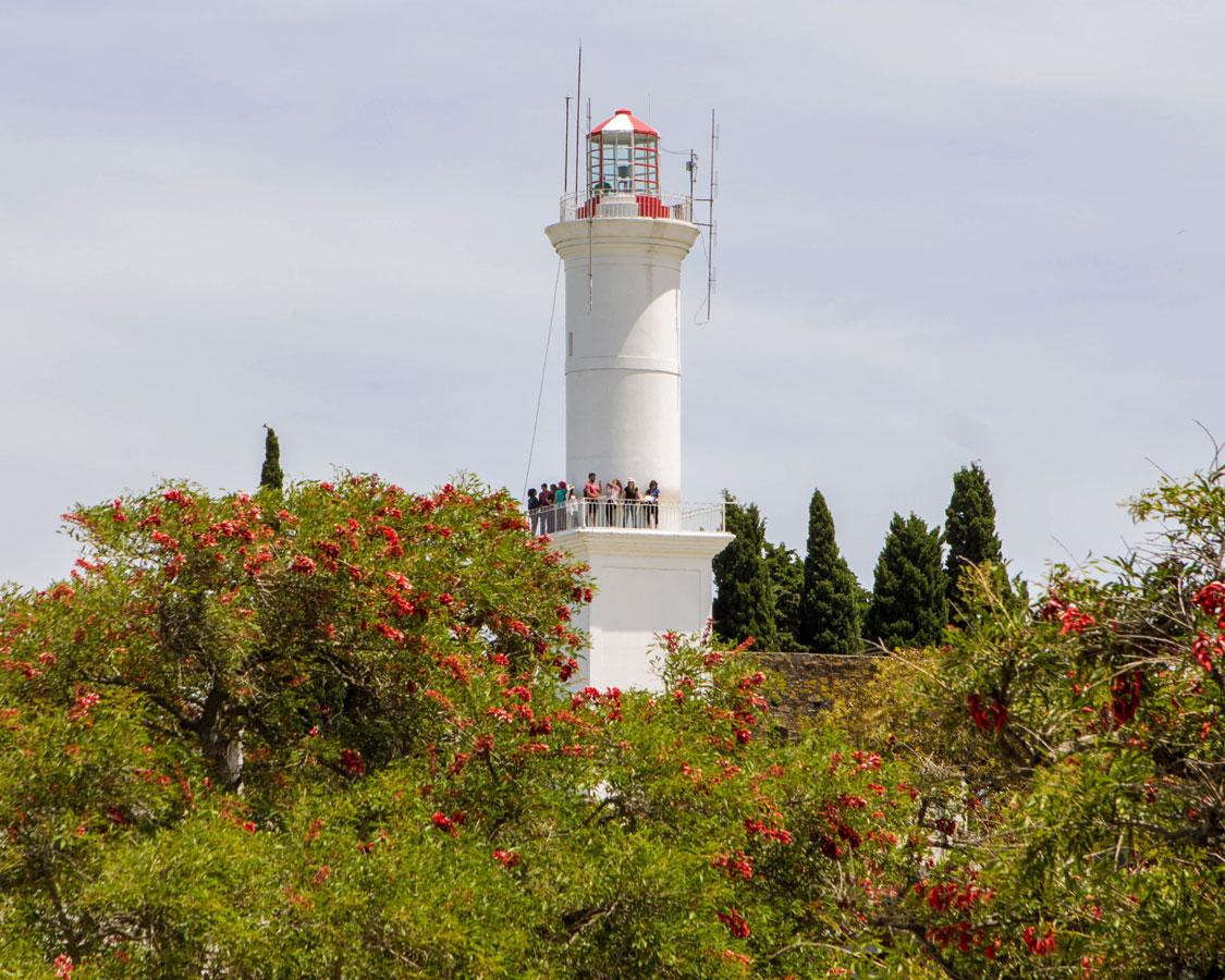 The Faro or Lighthouse of Colonia del Sacramento, Uruguay.