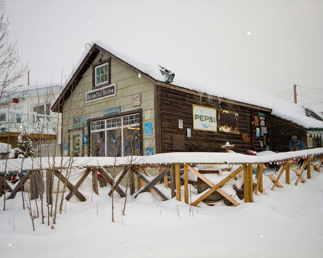 Where to eat in Yellowknife Northwest Territories Bullocks Bistro