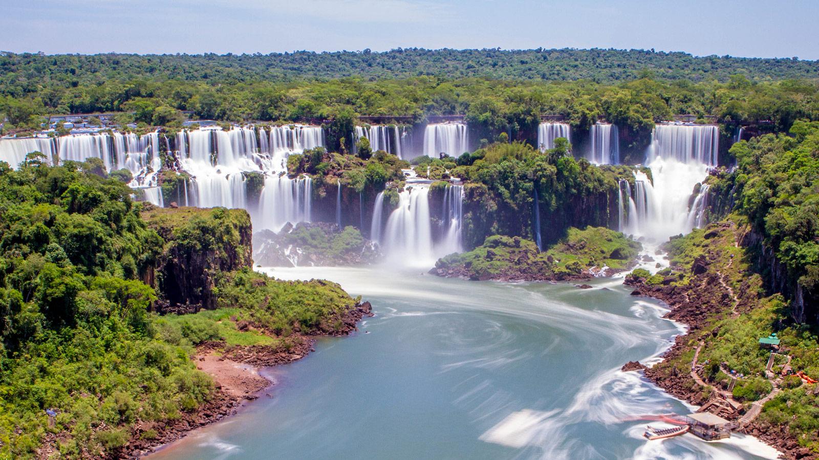 Фото бразилии водопады игуасу