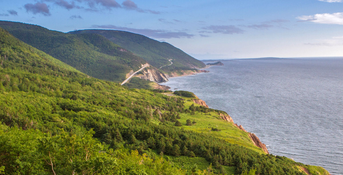 Cabot Trail in Nova Scotia is one of the most amazing places in Canada