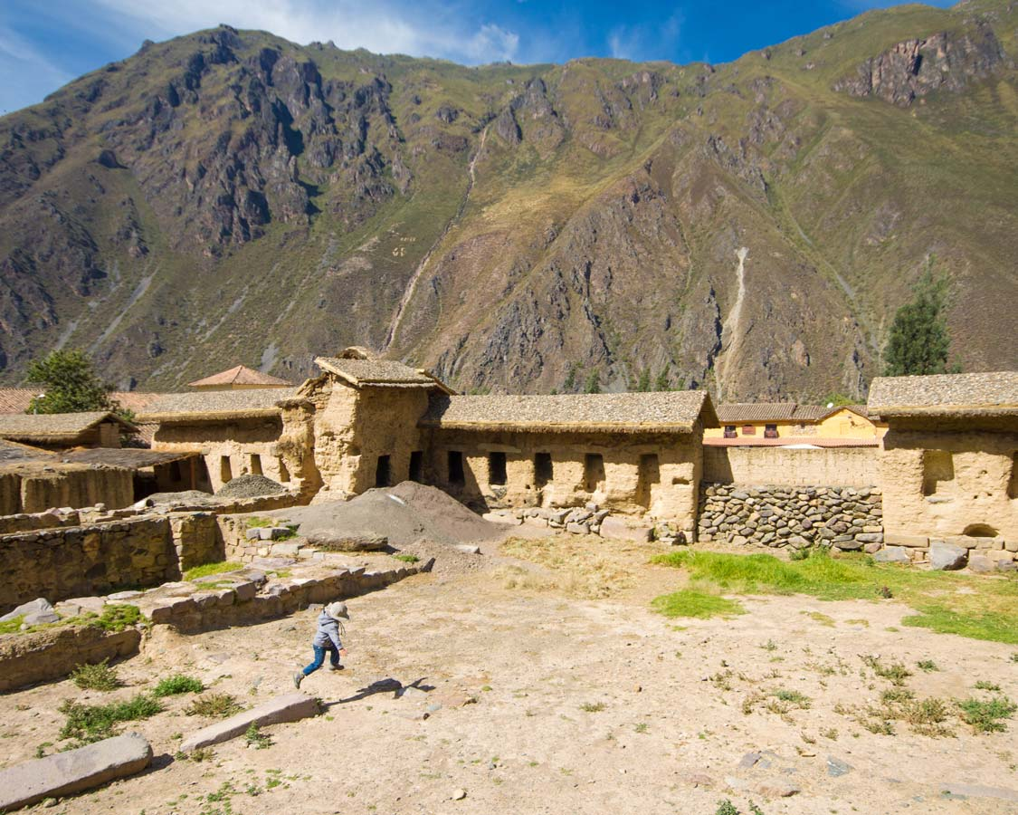 Machu Picchu Kids - Exploring the ruins of Ollantaytambo to Machu Picchu Peru