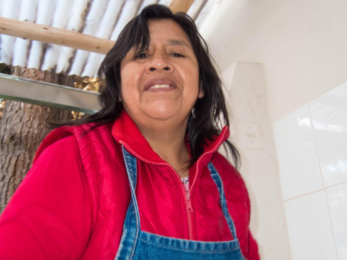 A staff member of Pablo Seminario taken by D