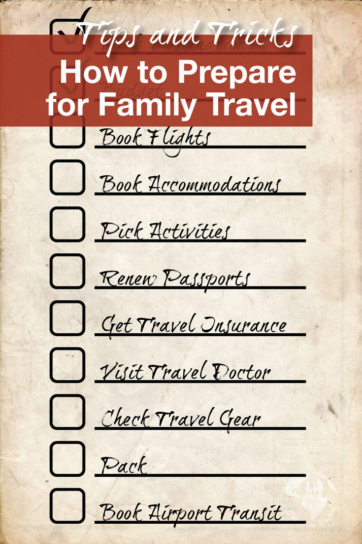 How to Plan a Family Vacation Pinterest