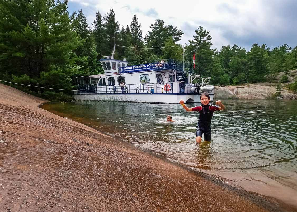 North Channel Cruise Tour of Manitoulin Island