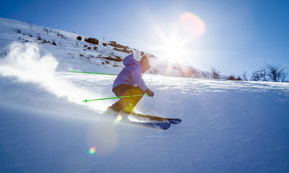 visiting Los Angeles isn't complete without skiing at High Mountain near Los Angeles