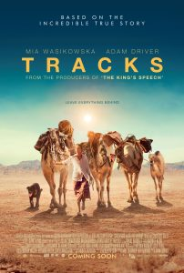 Tracks is an inspiring travel movie that follows a dangerous trek across the deserts of Africa. It is one of our top travel movies to inspire wanderlust