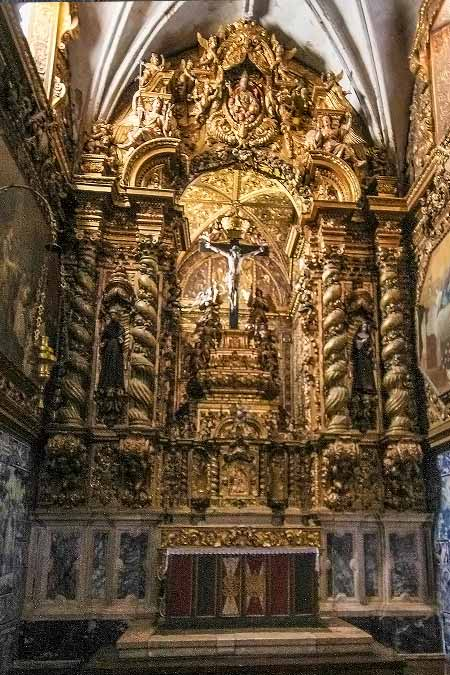 Things to do in Evora Portugal Church of St Francis