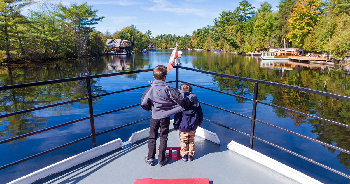 Should You Join The Lady Muskoka Cruise in Lake Muskoka Ontario? - Adventure Family Travel - Wandering Wagars