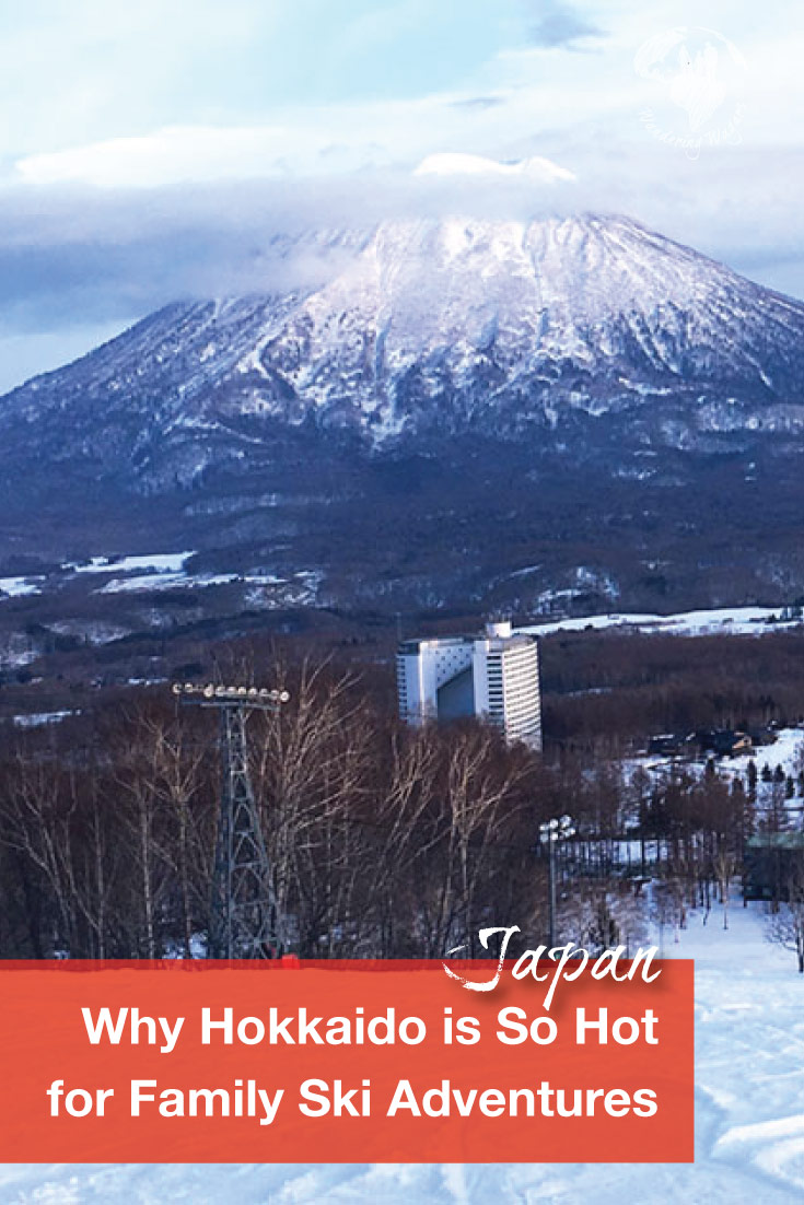 The island of Hokkaido is one of the hottest destinations for a Japan ski Holiday. Discover why its so hot for family adventurers!