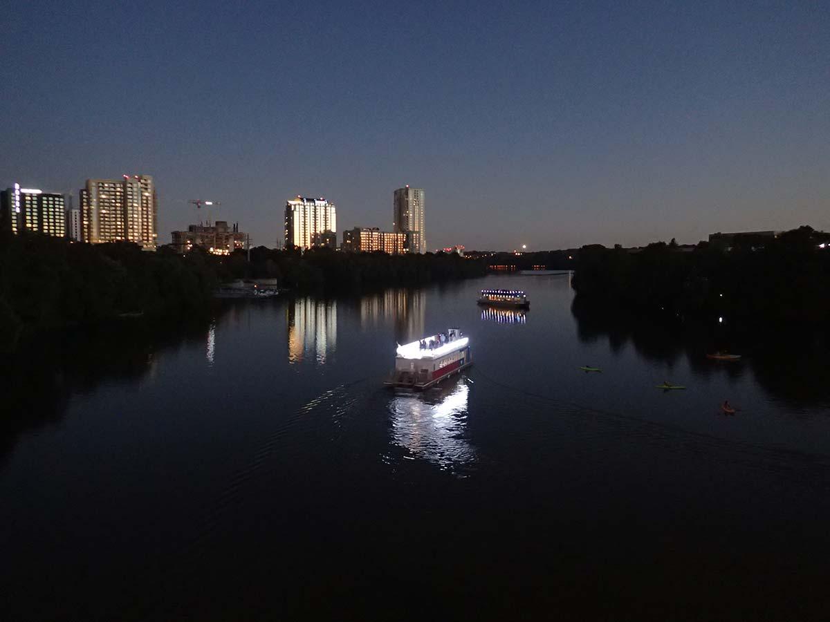 River cruises in Austin Texas
