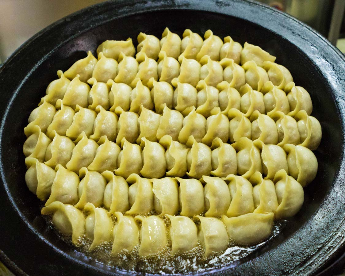 Potstickers and dumplings on a Shanghai Food tour