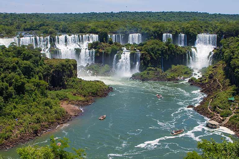 How to experience Iguazu Falls Brazil with kids