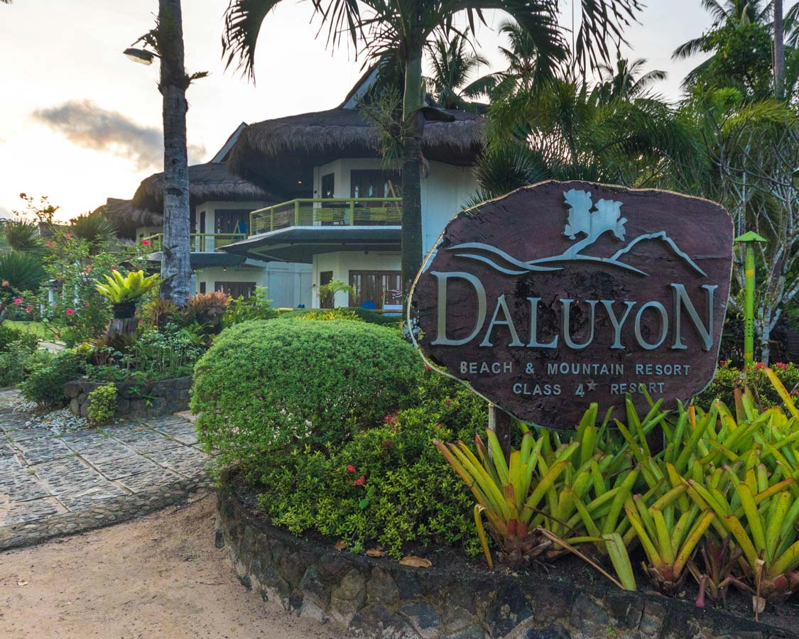 Daluyon Beach and Mountain Resort Puerto Princesa Philippines