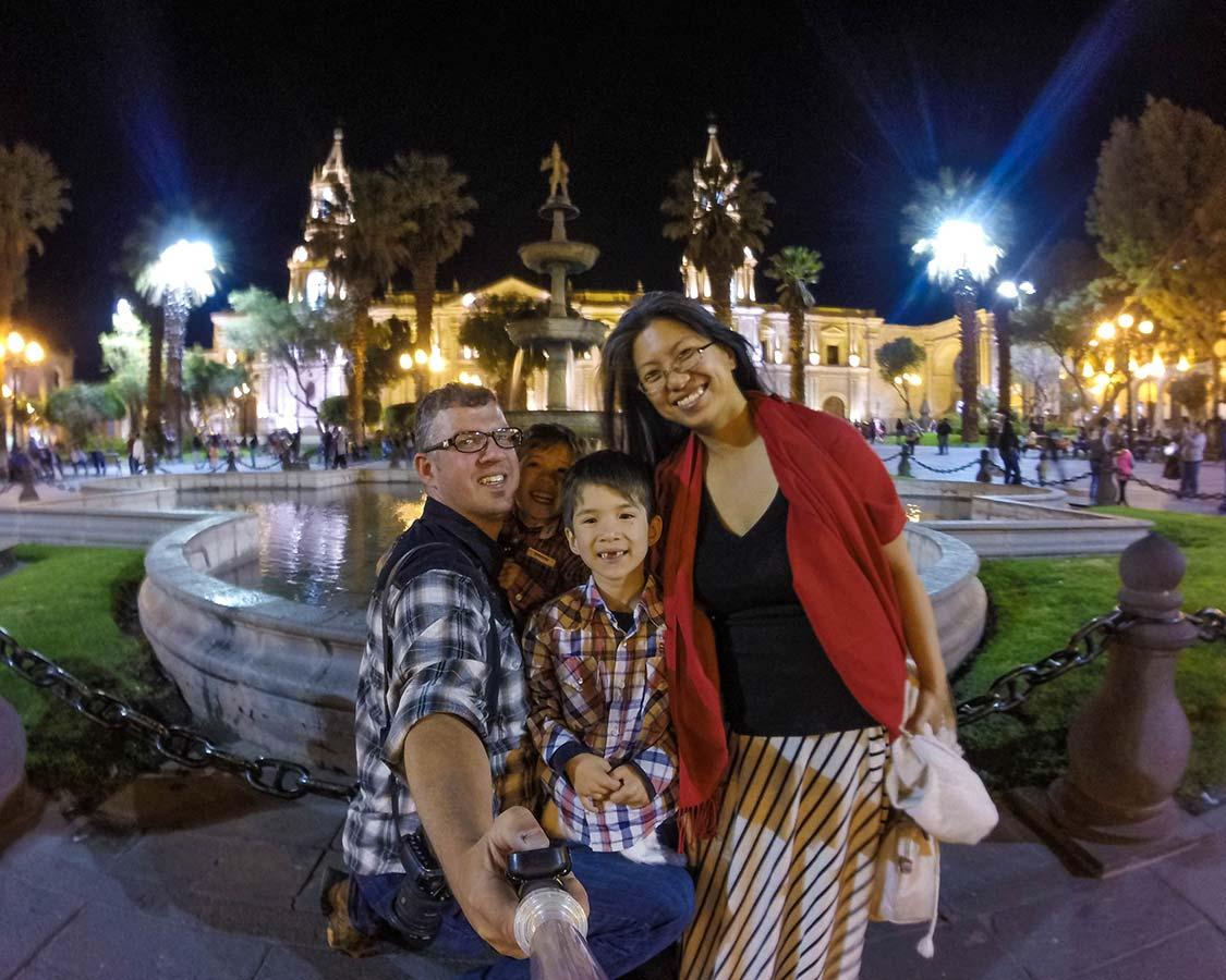 Wandering Wagars in Arequipa Peru