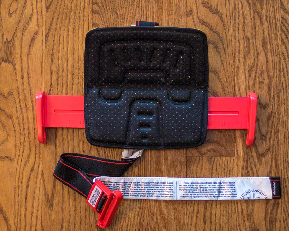 mifold foldable booster seat open