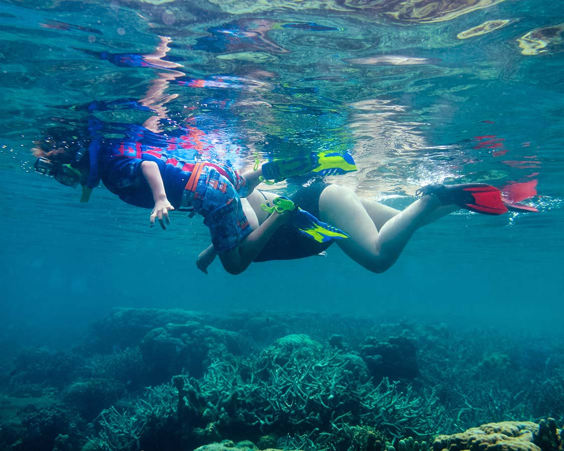 Coron snorkeling Sangat Island dive resort