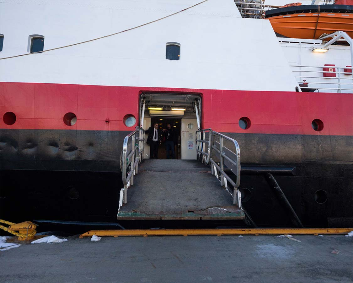 Missing the Hurtigruten Ferry in Norway
