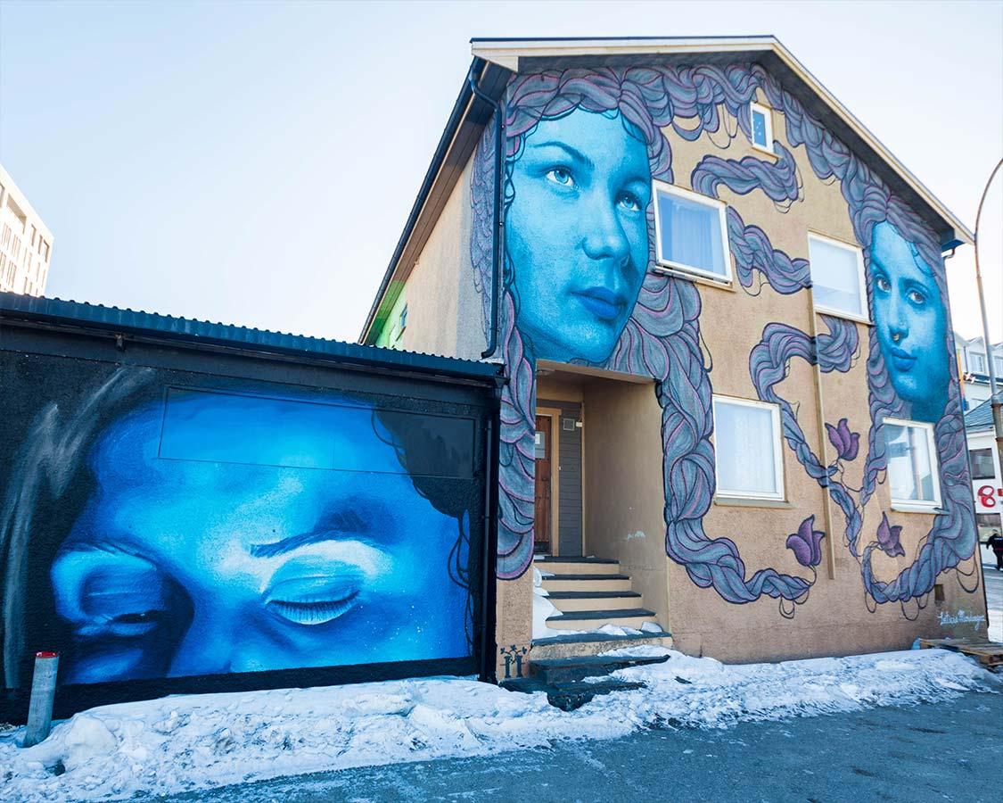 Street Art in Sandnessjoen Norway