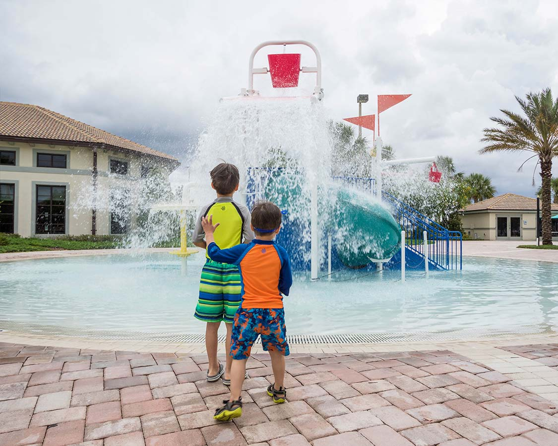 Champions Gate Florida Splash Pad