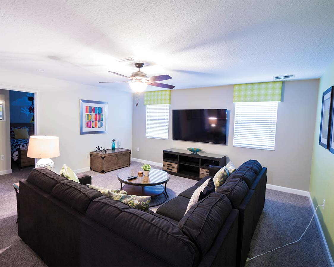 Upstairs Living Room in Kissimmee Vacation Home