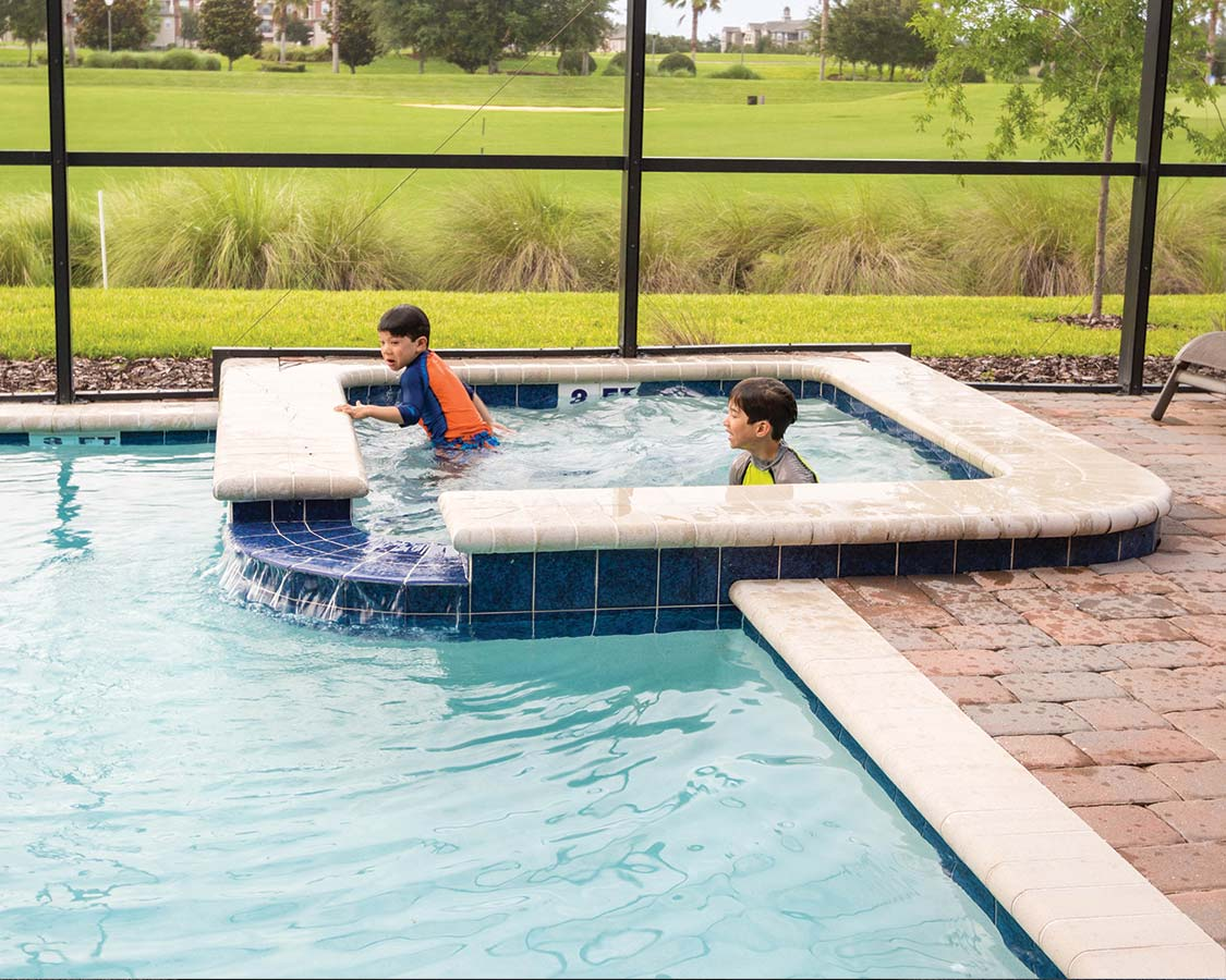 Vacation Home pool in Kissimmee Florida