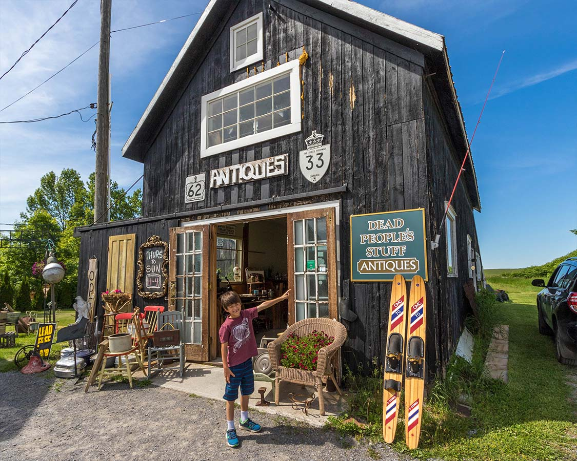 Antiquing in Prince Edward County