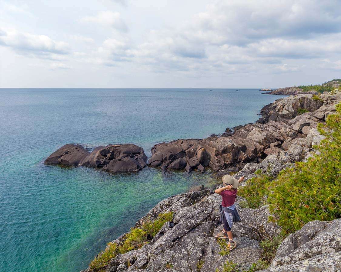 Coastal hikes in Pukaskwa National Park