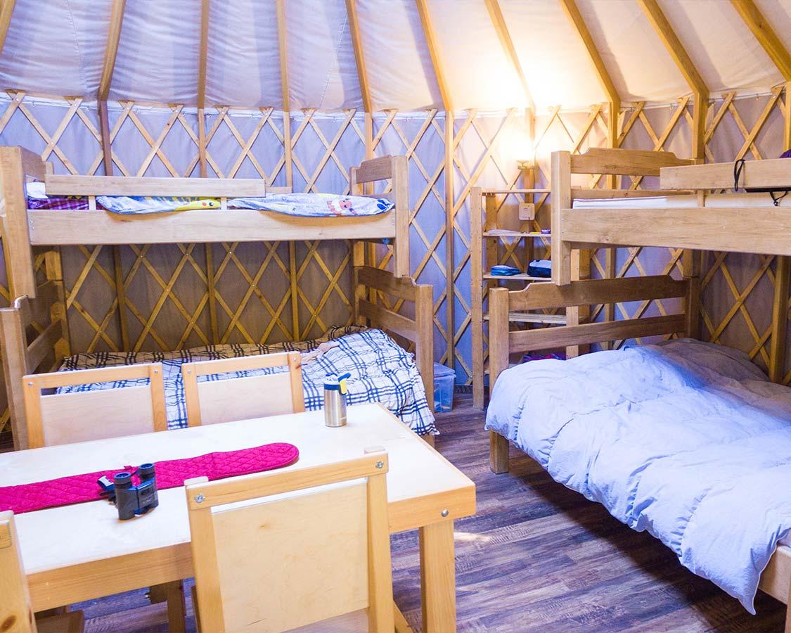 MacGregor Point Yurt Camping
