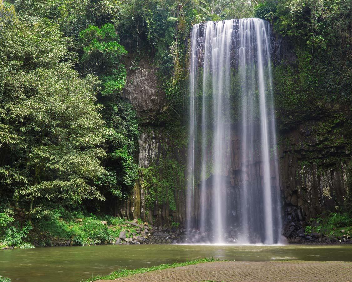 Millaa Millaa Falls on the Savannah Way Australian Road Trip