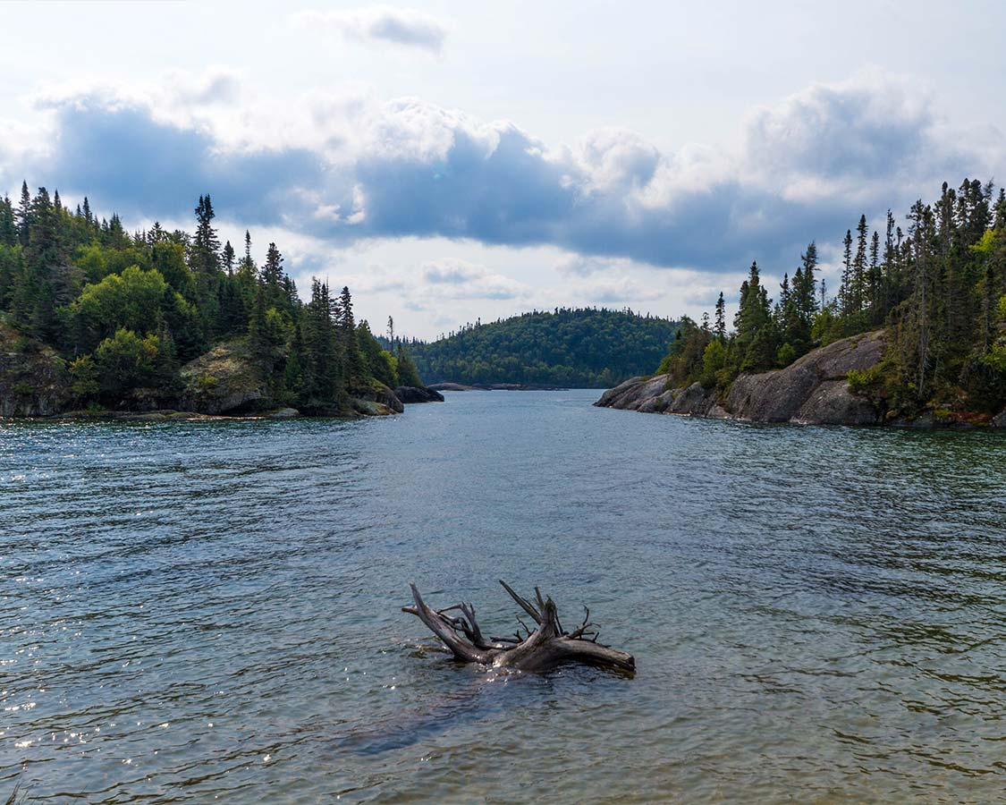 Pukaskwa National Park Canoe routes