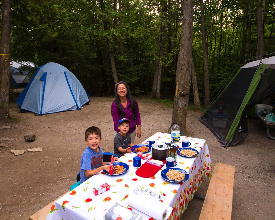 Things to do in Bruce Peninsula National Park - Camping at Cyprus Lake