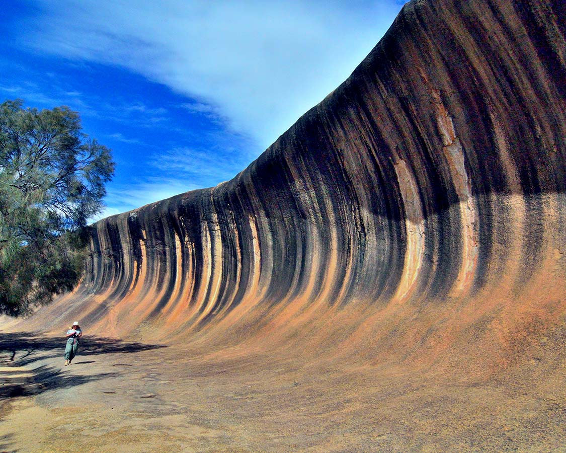 Wave Rock on the Southwest Edge Road Trips in Australia